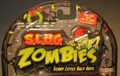 Zombies Slug (Slug)3Pack (Christmas 2012) Frozen Frightjohnny