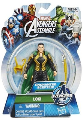 Animewild Marvel Avengers Assemble Avengers Iniative Loki 3 3/4