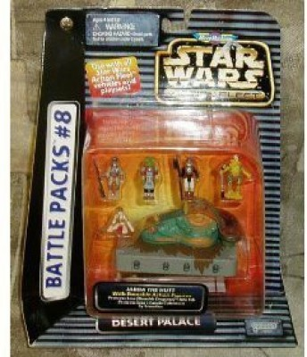 miro machines Star Wars Fleet Desert Palace Battle Packs 8(Multicolor)