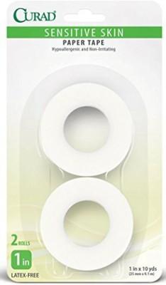 Curad Sensitive Skin Paper Adhesive Tape Adhesive Band Aid(Set of 4)