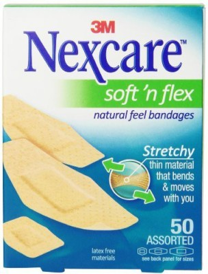 Nexcare Comfort Ultra Fabric Bandages Adhesive Band Aid(Set of 1)