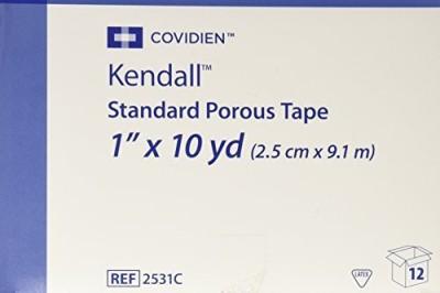 Covidien Standard Porous Tape Adhesive Band Aid(Set of 1)
