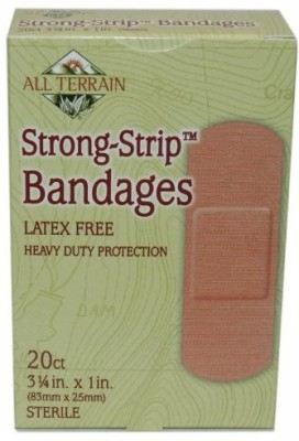 All Terrain Heavy Duty Strong Strip Bandage Adhesive Band Aid(Set of 20)