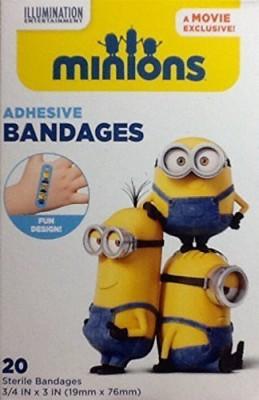 ASO LLC NEW Minions Adhesive Bandages Adhesive Band Aid(Set of 2)