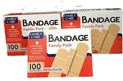 Family Care Bandage Family Adhesive Band Aid(Set of 3)