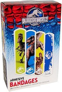 Jurassic World Adhesive Bandages Adhesive Band Aid(Set of 20)