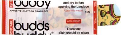 Buddsbuddy Adhesive Bandages 30pcs Pack 30pcs - Yellow Adhesive Band Aid(Set of 144011)