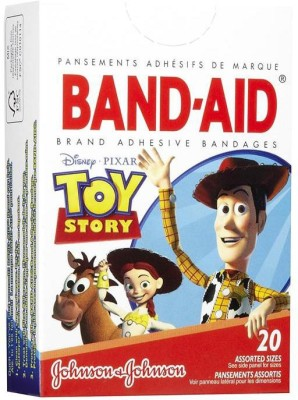 BAND-AID BANDAGES 20PK - TOY STORY Adhesive Band Aid