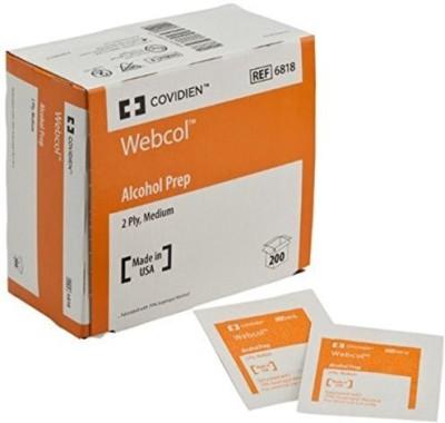 Covidien Kendall Webcol Premium Alcohol Prep Sterile Adhesive Band Aid(Set of 20)