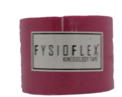 Surgi-pore Fysio Flex Kinesiology Tape (2Inch x 5 Meter Streched Roll)(Pink) Adhesive Band Aid(Set of 1)