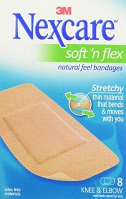 Nexcare Comfort Flexible Fabric Bandage Adhesive Band Aid(Set of 1)
