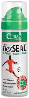 Curad SEAL Spray Bandage Bottle Adhesive Band Aid(Set of 4)