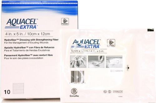 Aquacel New and Improved EXTRA Adhesive Band Aid(Set of 2)