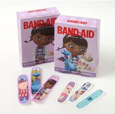 BAND-AID BANDAGES 20PK - DOC MCSTUFFINS Adhesive Band Aid