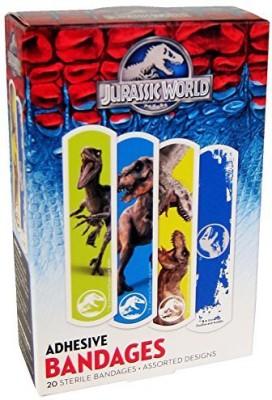 Universal Jurassic World Adhesive Bandages Adhesive Band Aid(Set of 6)