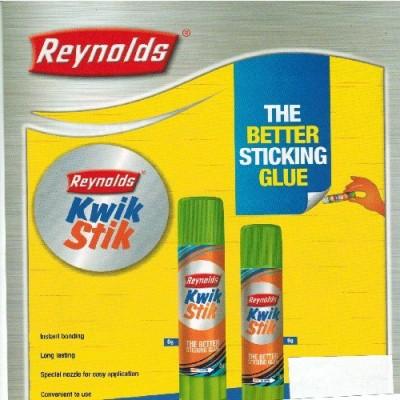 REYNOLDS GLUE STICK(Set of 15, White)