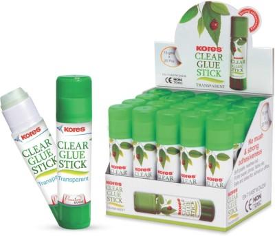 Kores Glue Stick(Set of 20, White)