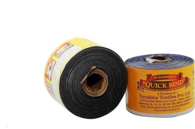 Sudarshan Quick Bind Glitter Glue(Set of 2, Black, Blue)