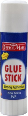 Soni Officemate PVP Gluestick Non Toxic & Safe, Solvent free and PVP based Glue Stick(Set of 30, White)