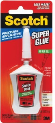 3M Office Products Glitter Glue(Set of 1, White)