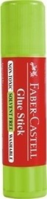 Faber-Castell Non-toxic, ASTM D-4236 Glue Stick(Set of 3)