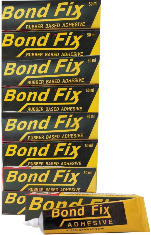 Bondfix (Pack of 9) Synthetic Rubber Based Adhesive(50 ml)