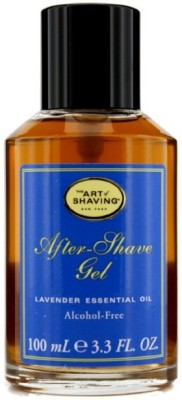 The Art Of Shaving After Shave Gel Alcohol Free - Lavender Essential Oil (For Sensitive Skin)(100 ml)