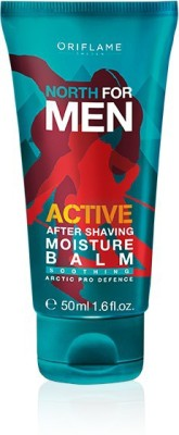 Oriflame Sweden North For Men Active After Shaving Moisture Balm(50 ml)
