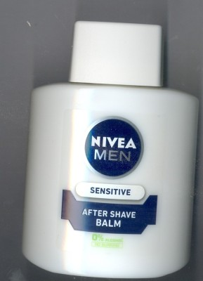Nivea Men Sensitive with 0% Alcohol After Shave Balm