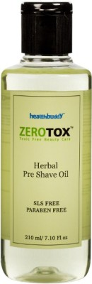 Healthbuddy Zerotox Herbal Pre Shave Oil(210 ml)