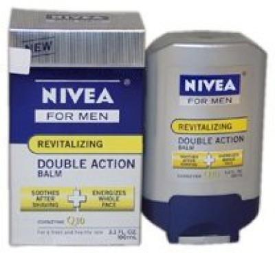 Nivea M-BB-1327 Revitalizing Double Action Shave Balm by Nivea for Men - 3.3 oz After Shave(92.4 g)