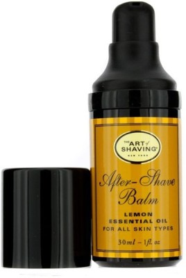 The Art Of Shaving After Shave Balm - Lemon Essential Oil (Travel Size, Pump, For All Skin Types)(30 ml)