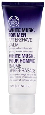 Body Shop White Musk For Men Aftershave Balm(75 ml)