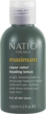 Natio For Men Maximum Razor Relief Healing Lotion(125 ml)