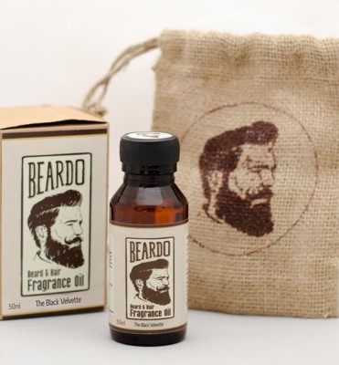 Beardo The Black Velvette Beard Fragrance Hair Oil