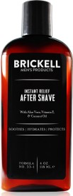 Brickell Men's Instant Relief Aftershave