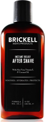 Brickell Men's Instant Relief Aftershave(118 ml)