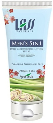 Lass Naturals Men's 5 in 1 Daily Moisturising Lotion