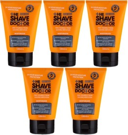 The Shave Doctor Moisturazor - Packs of 5(500 ml)