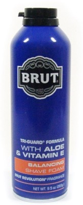 Brut Balancing Shave Foam With Aloe & Vitamin E - Revolution Fragrance