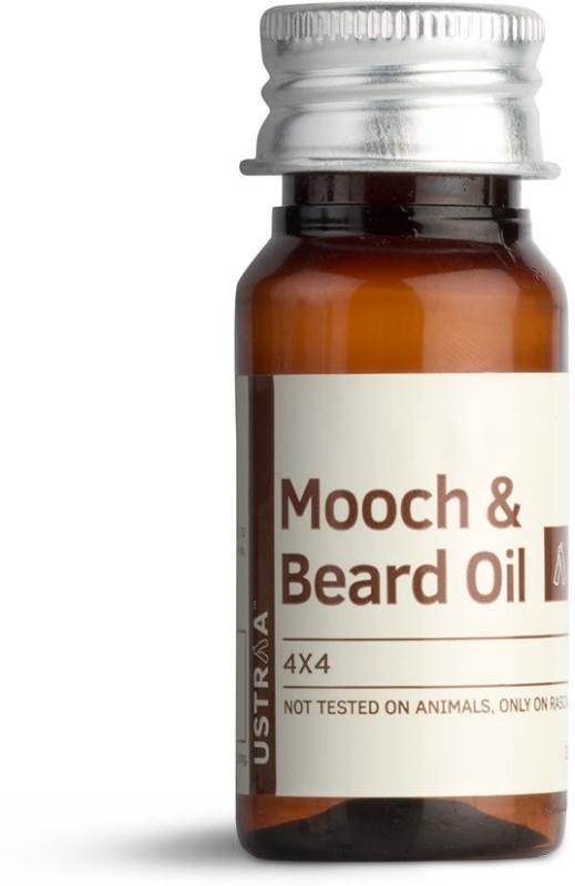 Ustraa By Happily Unmarried Mooch & Beard Oil 4x4(35 ml) best price on Flipkart @ Rs. 299