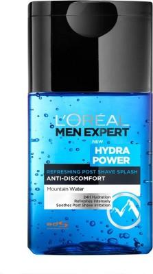L,Oreal Paris Men Expert Hydra Power Post Shave Splash(124 ml)