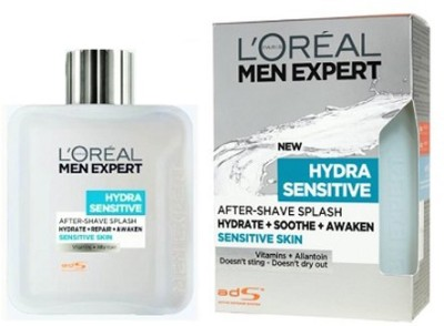 Loreal Men Expert After Shave Splash Sensitive Skin