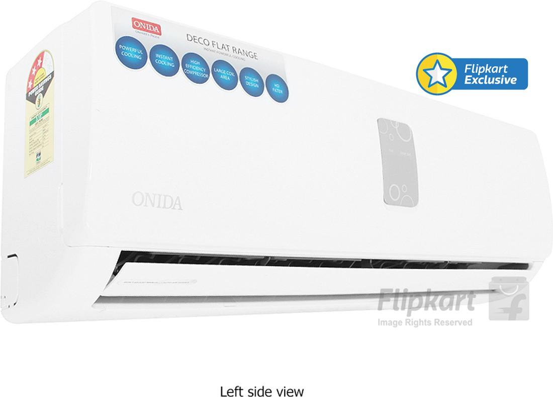 View Onida 1 Ton 3 Star Split AC White  Price Online