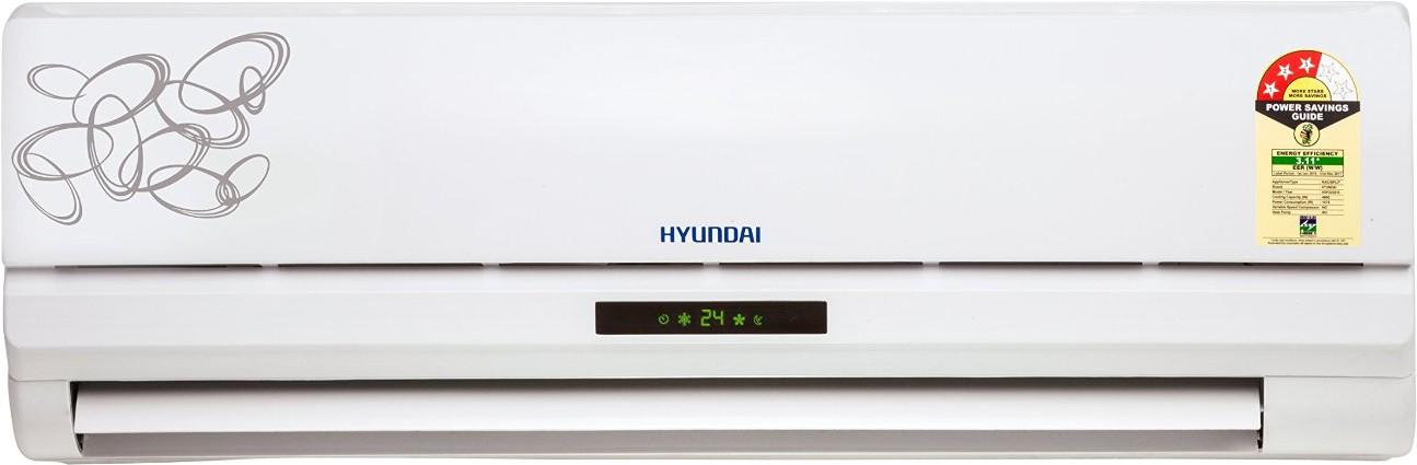 View Hyundai 1 Tons 3 Star Split AC White  Price Online