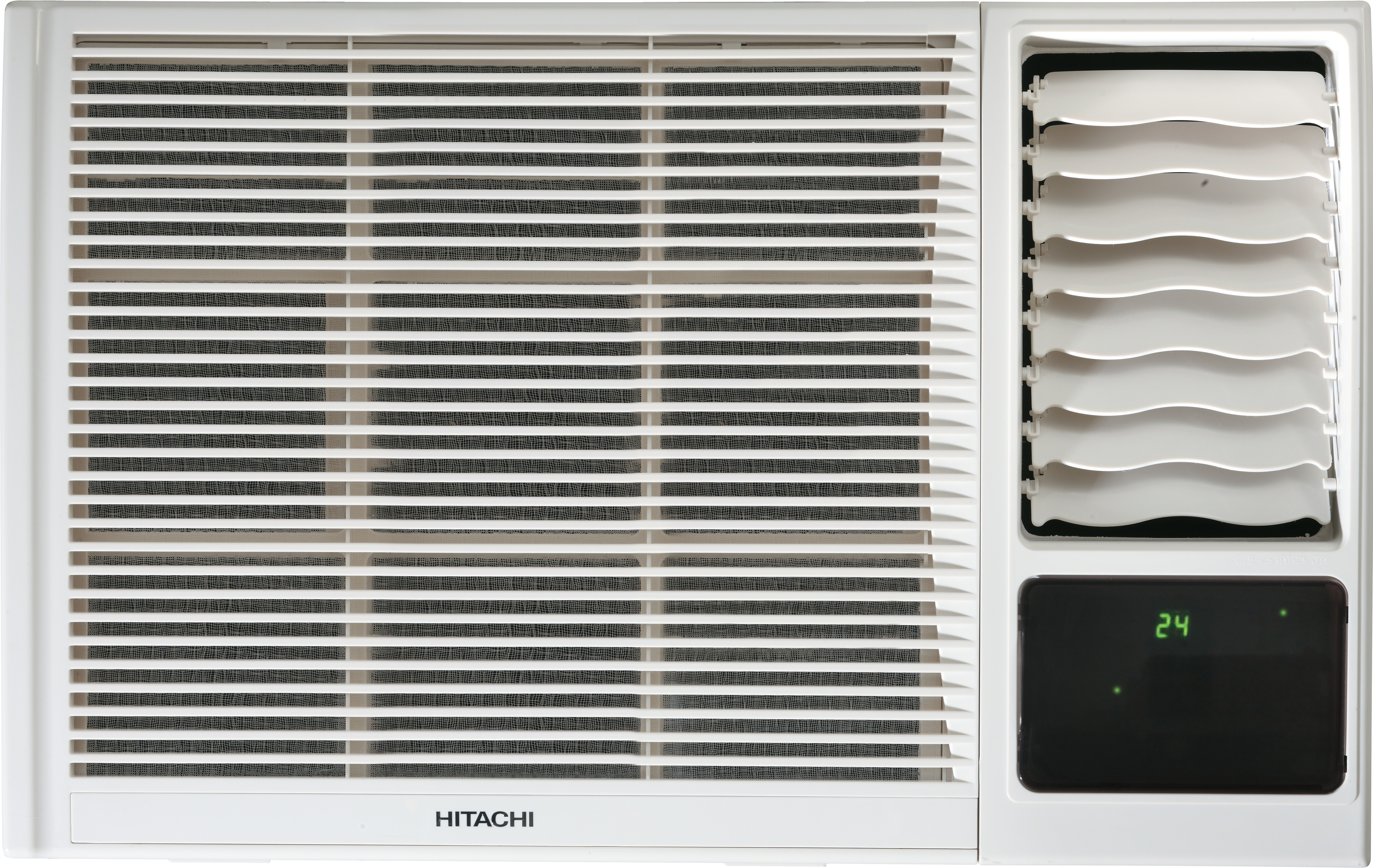 Hitachi 1.5 Ton 3 Star Window AC  - White(RAW318KXDAI, Copper Condenser) (Hitachi)  Buy Online
