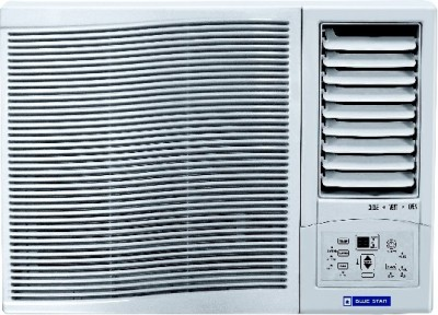 Blue Star 0.75 Ton 3 Star Window AC - White(3WAE081YDF, Copper Condenser)