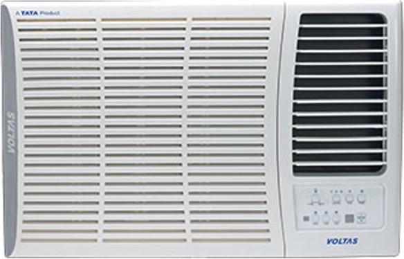 Voltas 1 5 ton 5 star window ac white price in india 03 for 1 5 ton window ac dimensions