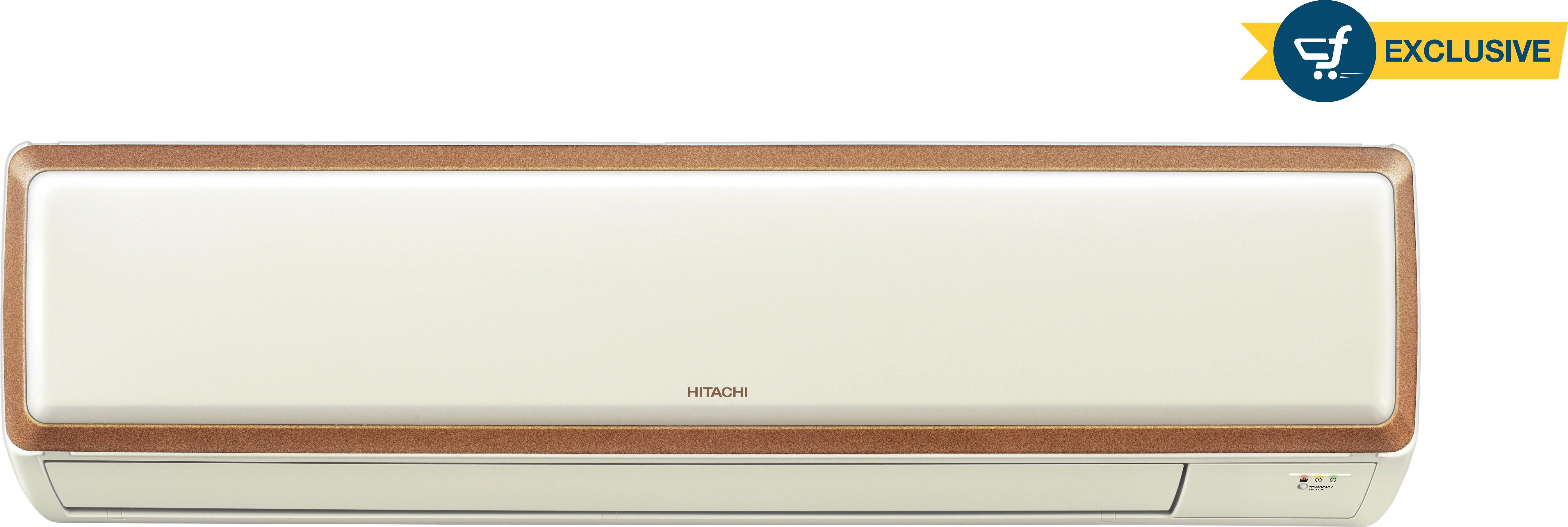 View Hitachi 1 Ton 3 Star Split AC White  Price Online