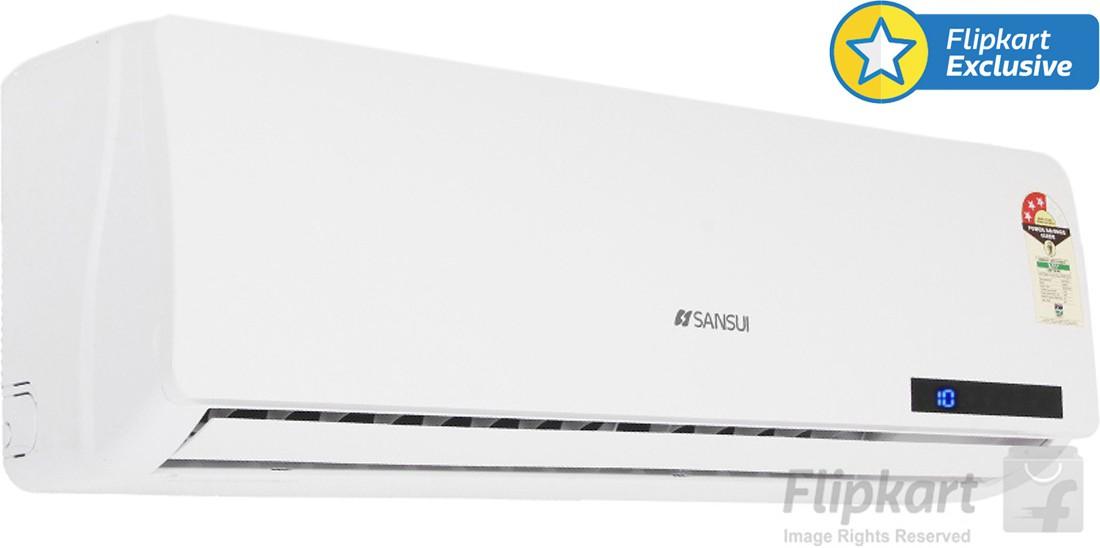 Sansui 1 Ton 3 Star Split AC White(A/C SSZ33, Aluminium Condenser)